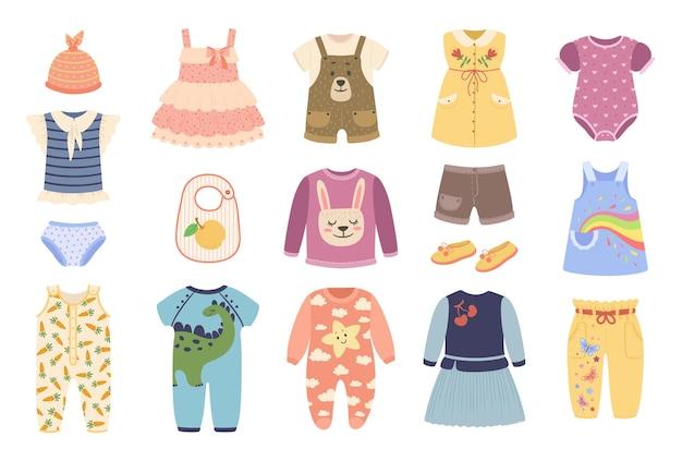 Babykleding kleding voor pasgeboren baby's bodysuit romper pyjama jurk schoenen set