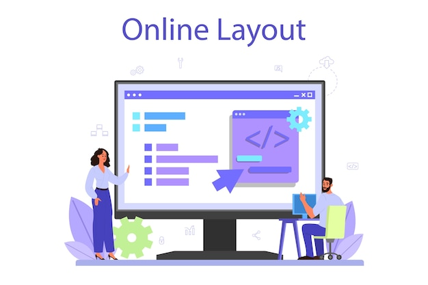 Back-end ontwikkeling online service of platform.