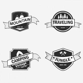 Badge ontwerpt collectie