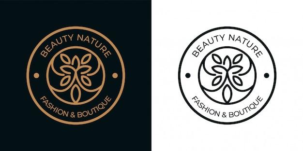 Badge voor natuurlijke schoonheid