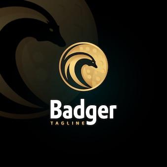 Badger logo sjabloon