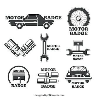 Badges voor garagebedrijven