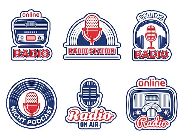 Badges voor radioshows