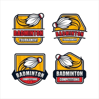 Badminton design premium collectie
