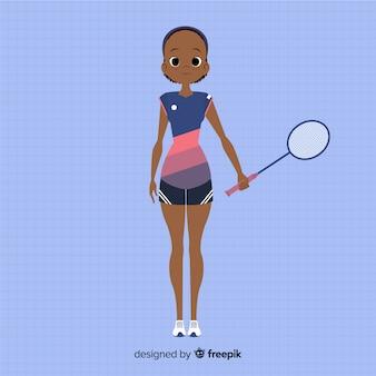 Badmintonspeler