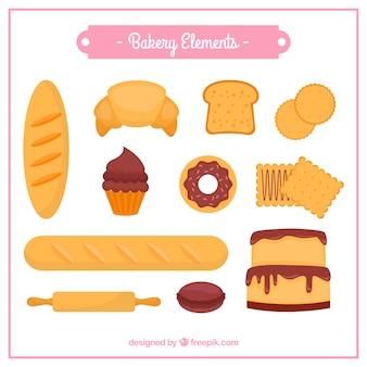 Bakery elementen collectie