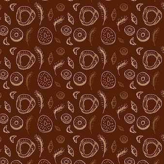 Bakery elements pattern