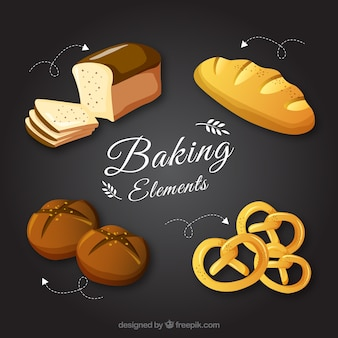 Baking element collectie