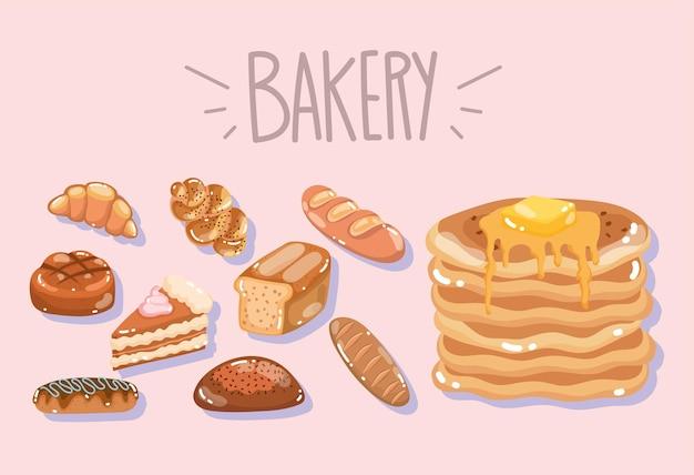 Bakkerij brood producten