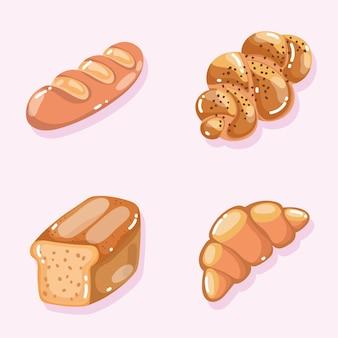 Bakkerij diverse soorten brood