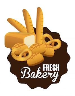 Bakkerij eenvoudig element
