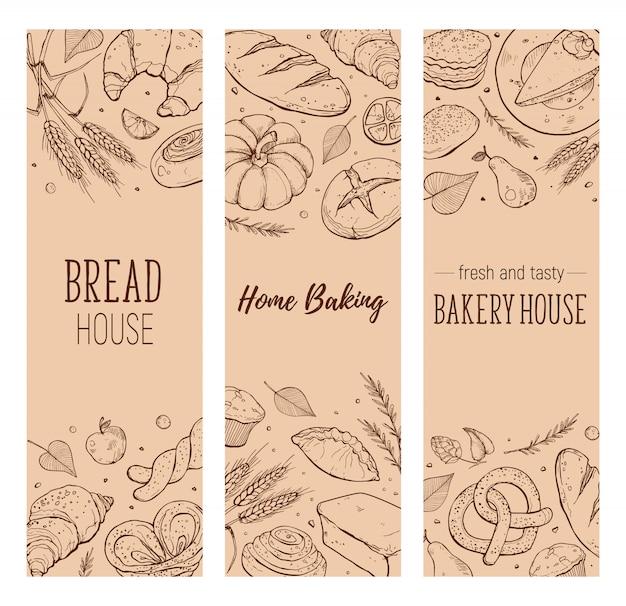 Bakkerij huisontwerp