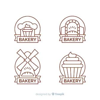 Bakkerij logo collectie