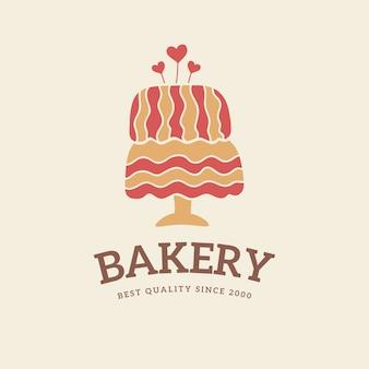 Bakkerij taart logo