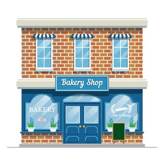 Bakkerij winkel gebouw