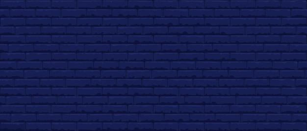 Bakstenen muur patroon naadloze achtergrond. realistische decoratieve achtergrond.