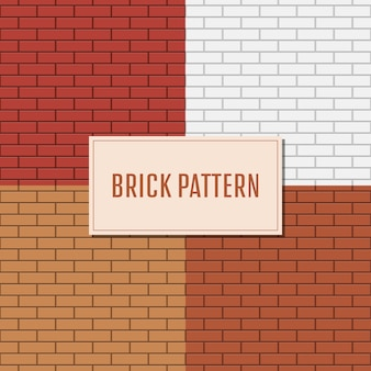 Bakstenen muur patroon