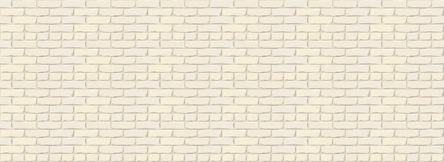 Bakstenen muur textuur achtergrond. digitale llustration van witte kleur brickwall.