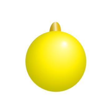 Bal kerstboom speelgoed kerst vector illustratie clipart.