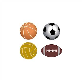 Ball logo design collectie