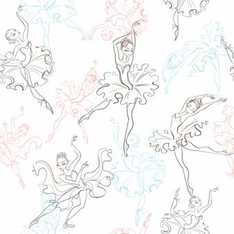 Ballerina's patroon