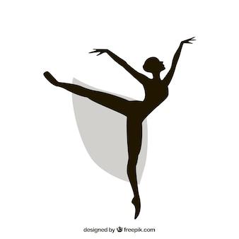 Ballerina silhouet