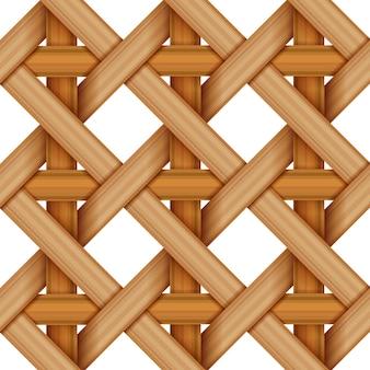 Bamboe hout wevend patroon, natuurlijke rieten textuuroppervlakte