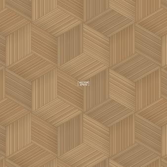 Bamboe mandenmakerij patroon illustratie