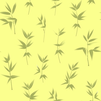 Bamboe naadloze patroon.