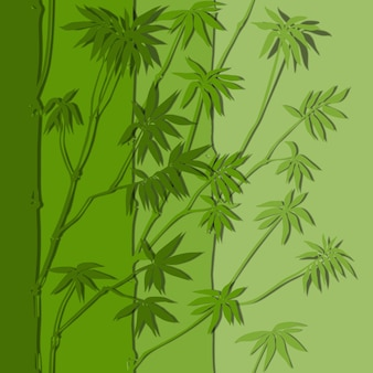 Bamboe naadloze verticale papiersnijrand