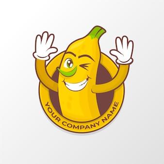 Banaan karakter logo