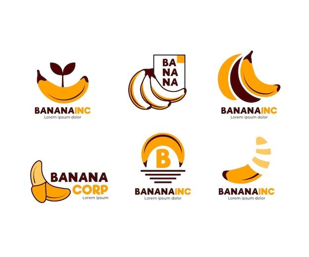 Banaan logo template pack