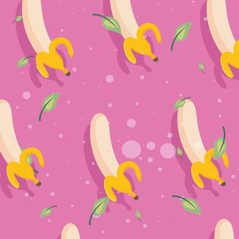 Bananen fruit patroon