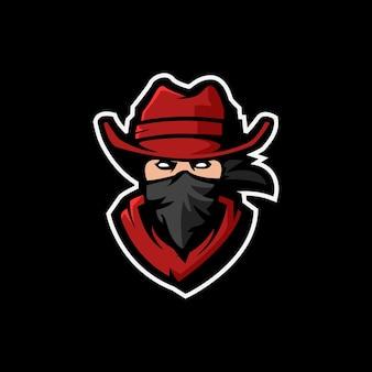 Bandit esport-logo ontwerp