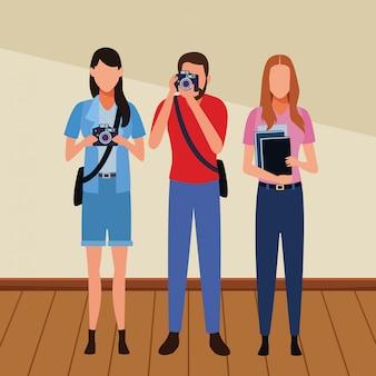 Banen en beroepen avatars