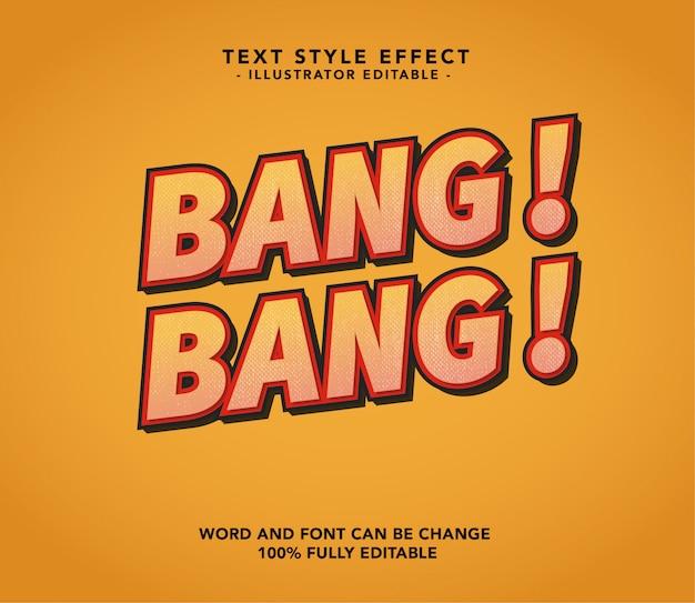 Bang bang lettertype