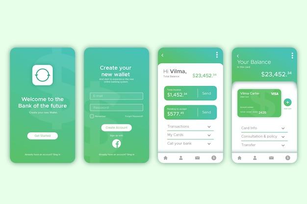 Bank app-interface