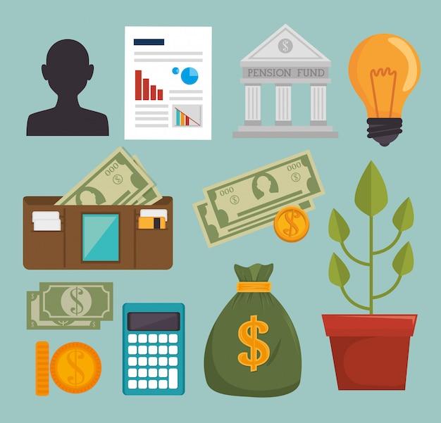 Bankgeld en investeringen