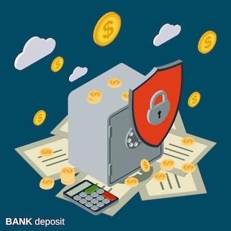 Bankstorting