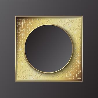 Banner achtergrond sjabloonontwerp met glitter. vector illustratie.