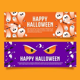 Banner - gelukkig halloween
