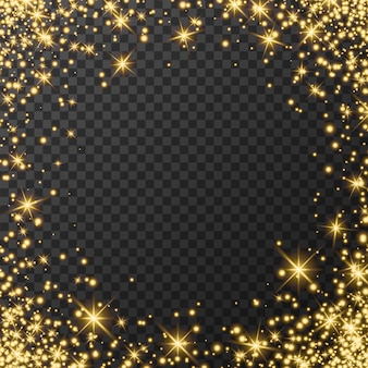 Banner gelukkig nieuwjaar 2022 met zilverstof, glanzend glinsterend effect, vectorformaat