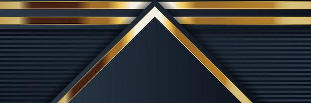 Banner geometrische abstracte achtergrond met heldere textuur