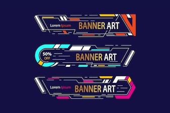 Banner kunst frame