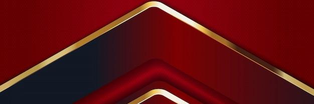 Banner luxe lichte kleur achtergrond