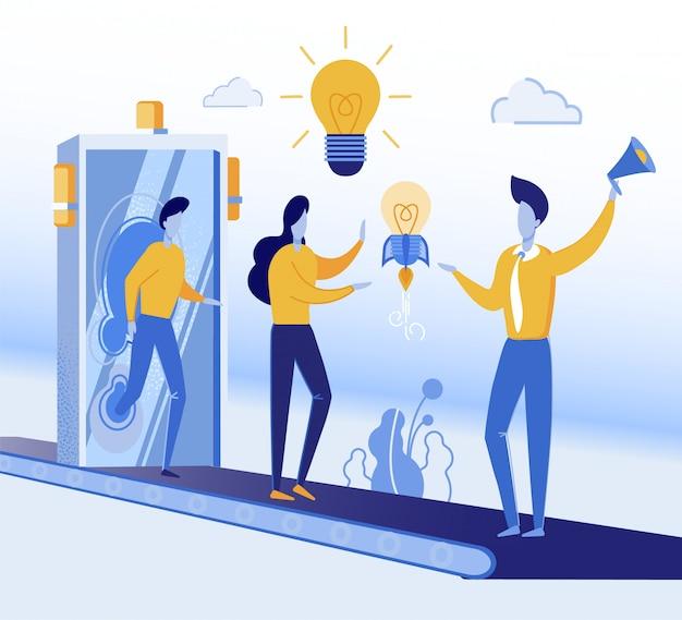 Banner optimaliseer gedachten om naar ideeën te zoeken.