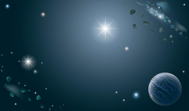 Banner van het universum
