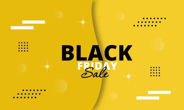 Banner voor black friday-verkoop.