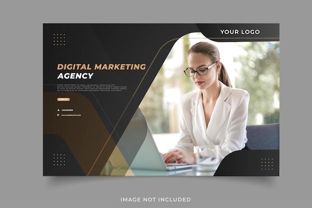 Banner voor digitaal marketingbureau