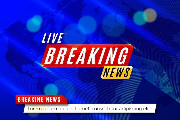 Bannermalplaatje brekend nieuws